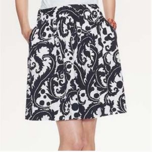 Banana Republic Milly Collection Paisley Skirt